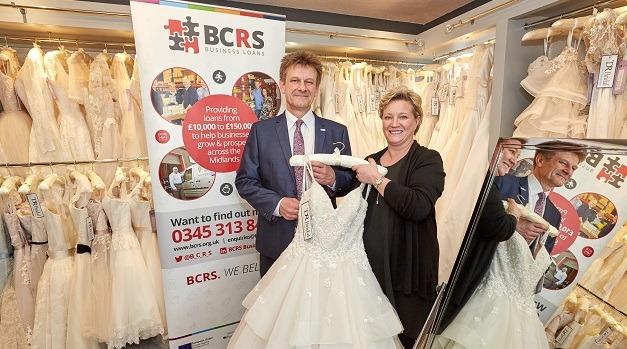 44d5668438cf Loan helps Halesowen bridal company jump aisles ahead | BCRS ...