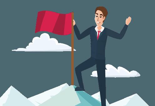 flag-man