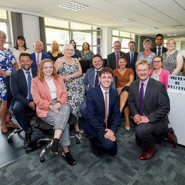 The team at BCRS Business Loans are celebrating a new lending milestone