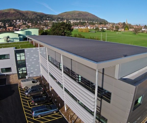 Image: A contract completed by Britannia Site Solutions at Malvern Science Park. Image courtesy of Britannia Site Solutions Ltd