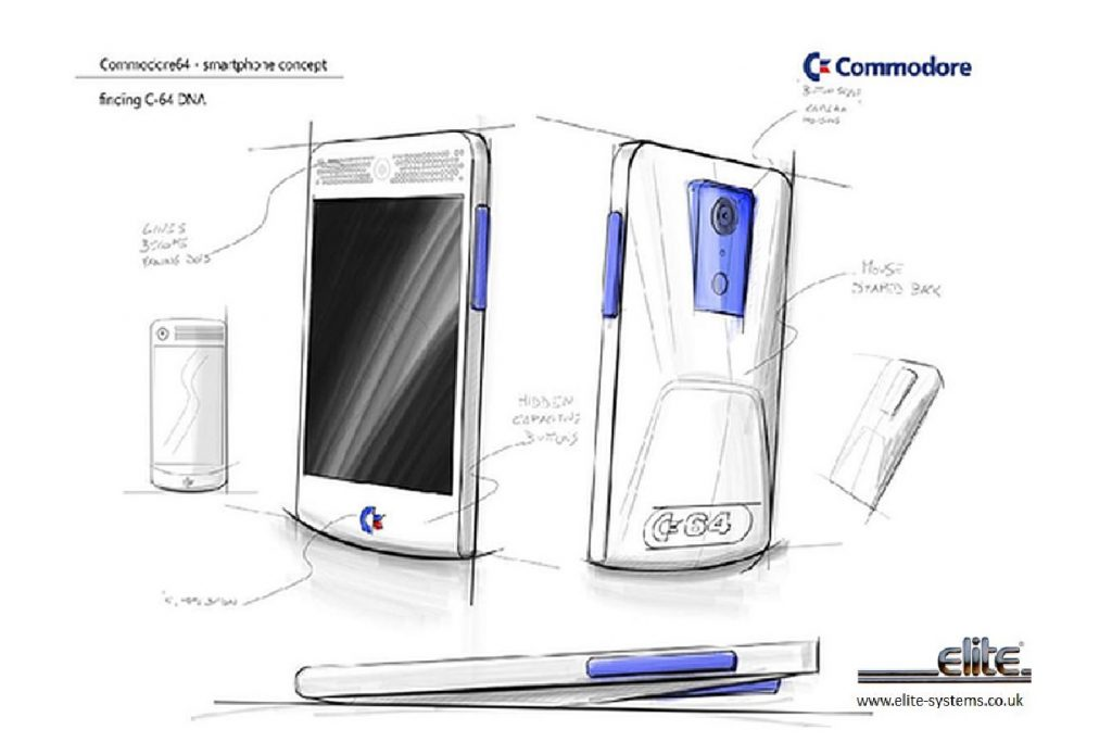 Elite Systems Commodore 64 Smartphone Concept