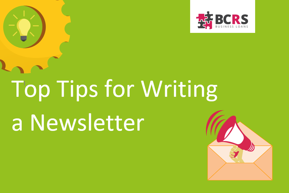Top tips for writing a newsletter