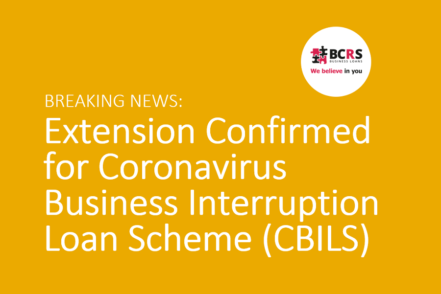 Extension Confirmed for Coronavirus Business Interruption Loan Scheme (CBILS)