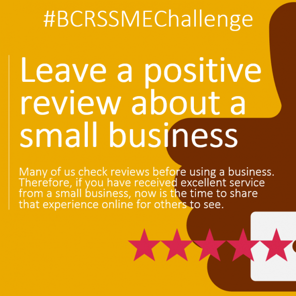 why are reviews important to SMEs