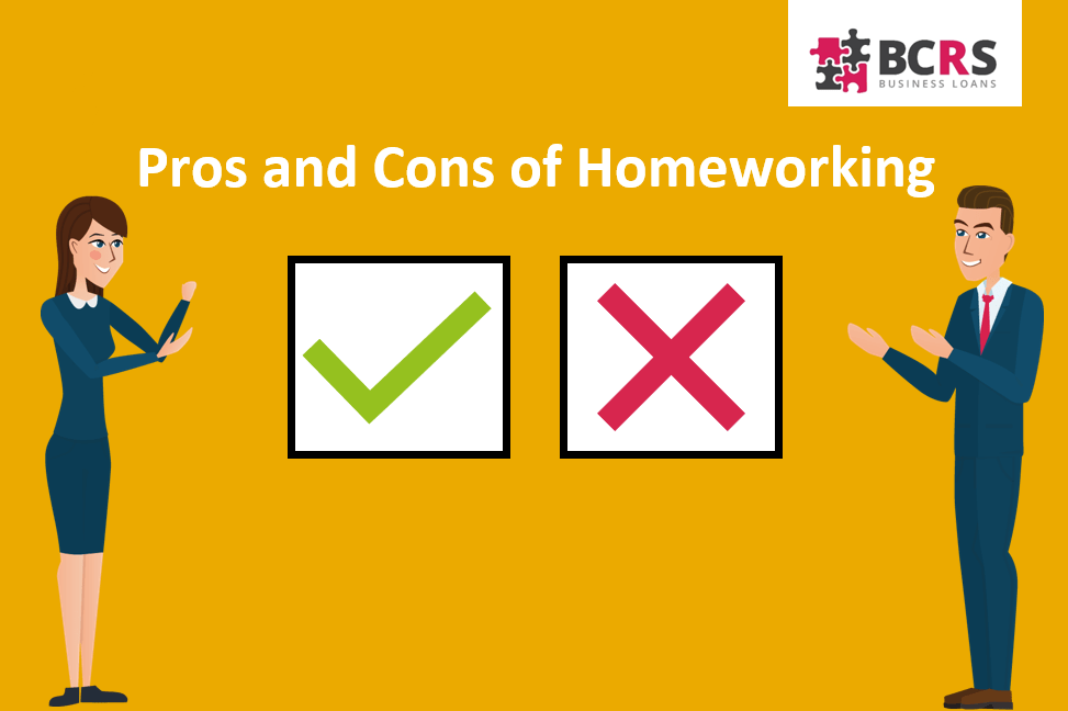 pros and cons of homeworking