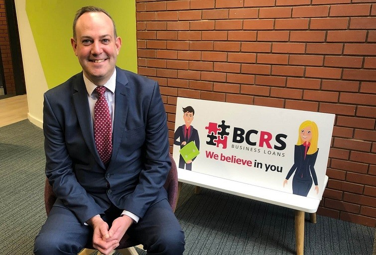 Stephen Deakin: Chief Executive of BCRS celebrates lending milestone