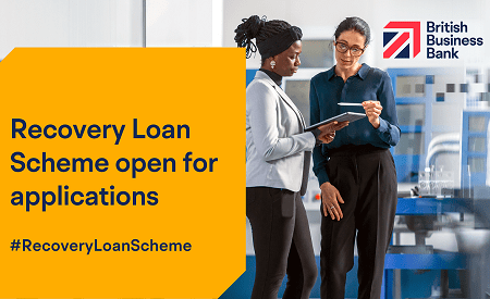 Recovery Loan Scheme open for applications